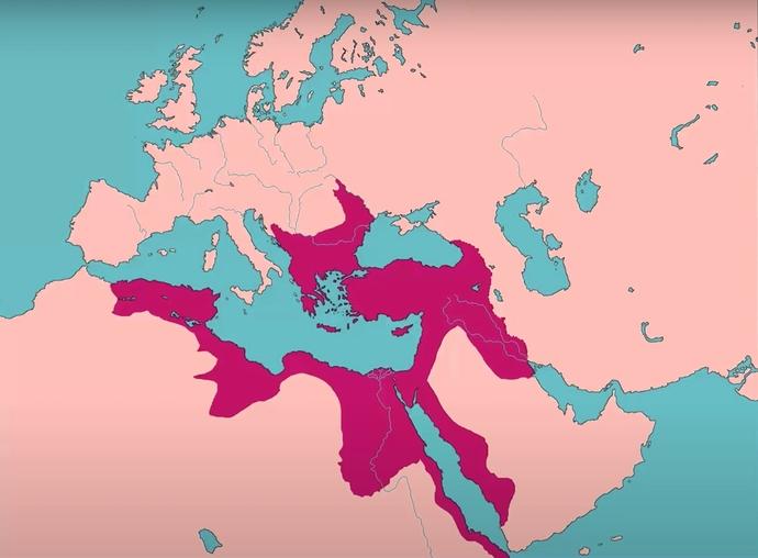 III. Selim dönemi Osmanlı haritası (Yıl: 1792)