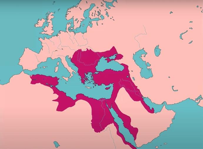 IV. Murad dönemi Osmanlı haritası (Yıl: 1640)