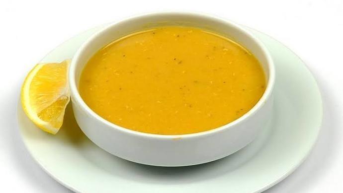 Normal çorba koydum, iğrenç olmasın diye:)