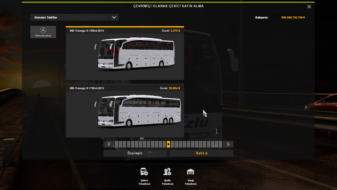 Türkiyede Bir ilk: Mercedes Benz Travego Special Edition 15 - 17 SHD
