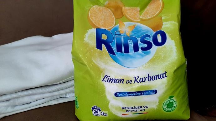 Rinso Limon ve Karbonat
