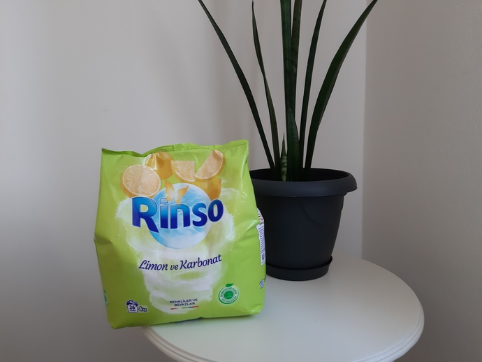 Rinso Limon ve Karbonat Toz Deterjan
