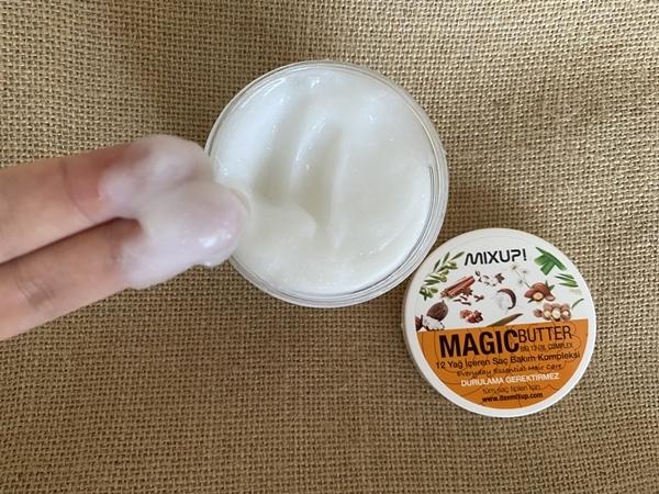 12 Yağ İçeren Mükemmel Saç Bakım Kompleksini Deniyorum: Mixup Magic Butter