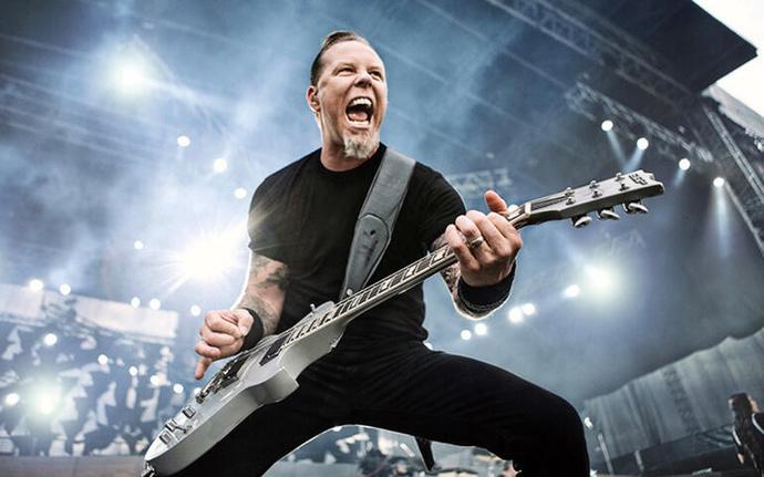 Metallicanın efsane solisti James Hetfield
