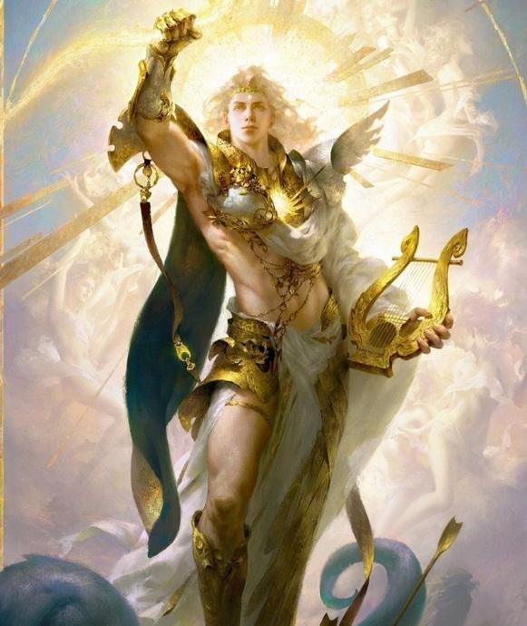 Apollo aslan burcunu da temsil eder. Güç gösteriş krallık ve egoyu temsil eder.
