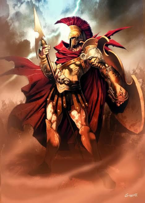 Ares koç burcunuda temsil eder. Atılganlık agrasiflik ve egoyu temsil eder.