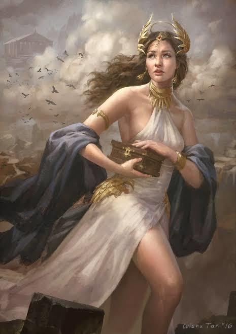 Afrodit terazi burcunuda temsil eder. Barış, aşk, güzellik gibi konuları temsil eder.