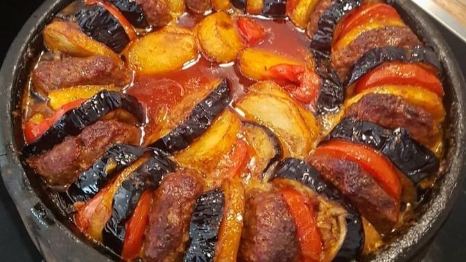 Patlıcanın En Güzel Hali: Güveçte Patlıcan Kebabı
