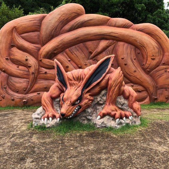 Dokuz Kuyruklu Şeytan Tilki - dünyanın en büyük Naruto tema parkında 🦊