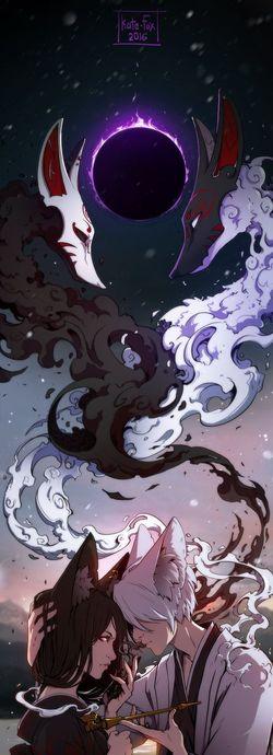 Bir Mitolojik Yaratık: Kitsune/Dokuz Kuyruklu Tilki