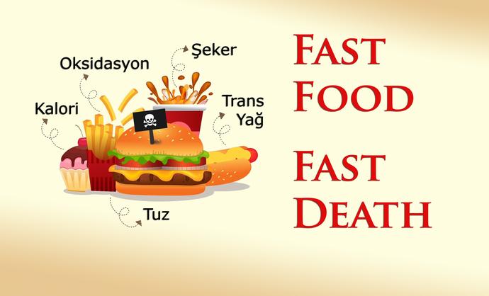 En Sağlıksız Beslenme Modeli!