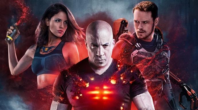 Vin Diesel & Sam Heughon & Eiza Gonzalez