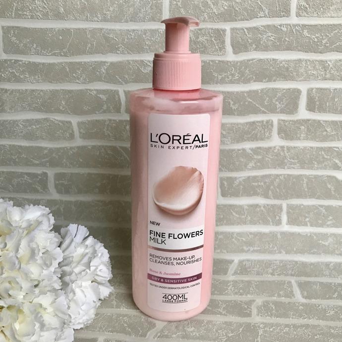 L'Oréal Paris Değerli Çiçekler Temizleme Sütü