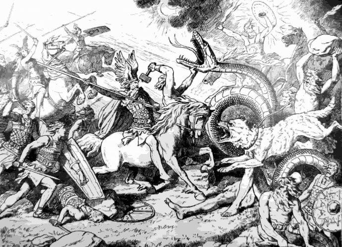 Ragnarok Savaşı: Odin, Thor ve Lokinin Ölümü - Tarihi Olay