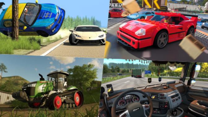 Oyunlarda Araç Kullanmayı Sevenlere: En İyi Araç Simülatör Oyunları!