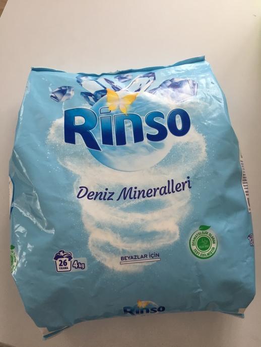 Rinso Deniz Mineralleri Toz Deterjan