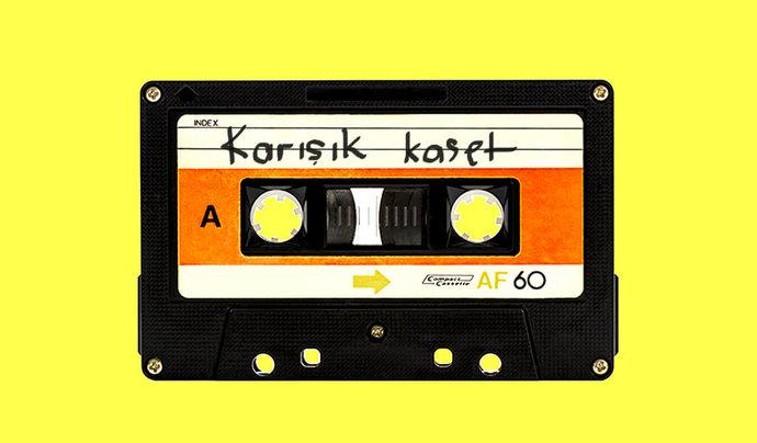 Liste yapılıp şarkıların tek tek seçilerek doldurtulan karışık kasetler