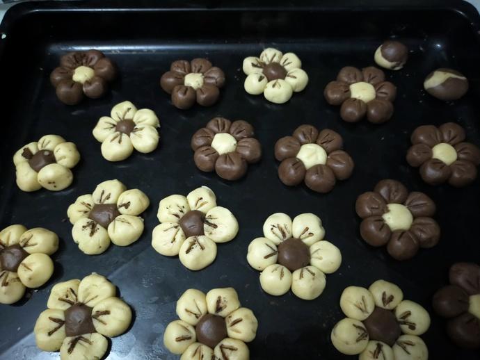 Bayram Şekeri Gibi Yüzlerde Güller Değil Çiçek Açtıran Çiçek Kurabiyelerim!