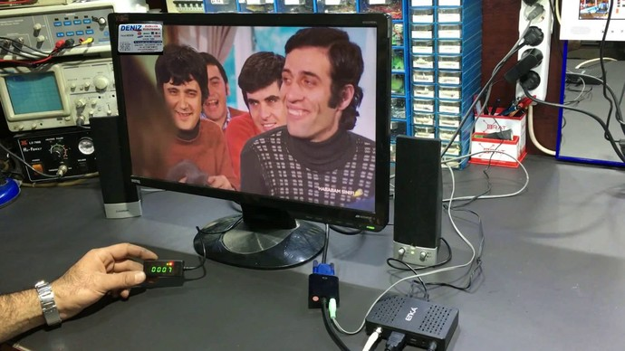 Bilgisayar Ekranını Televizyona Dönüştürme