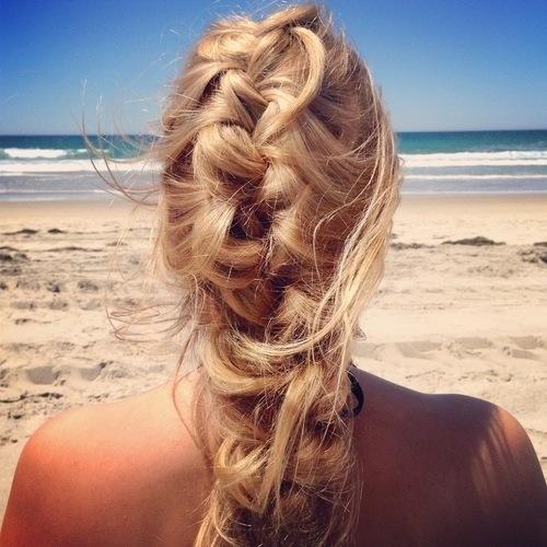Plajda Kullanılabilecek En Havalı Saç Modelleri