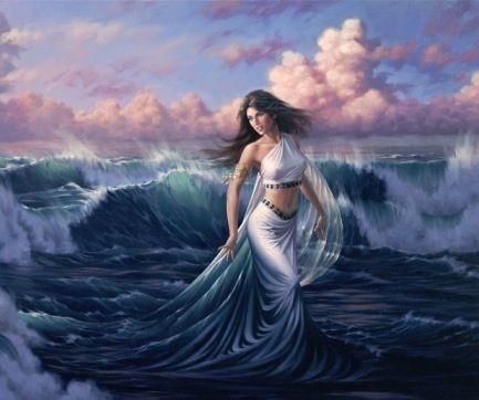 Tethys; Yeraltı suları Tanrıçası