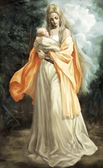 Rhea; Cinsel Bereket ve Dağlık Bölgelerin Tanrısı