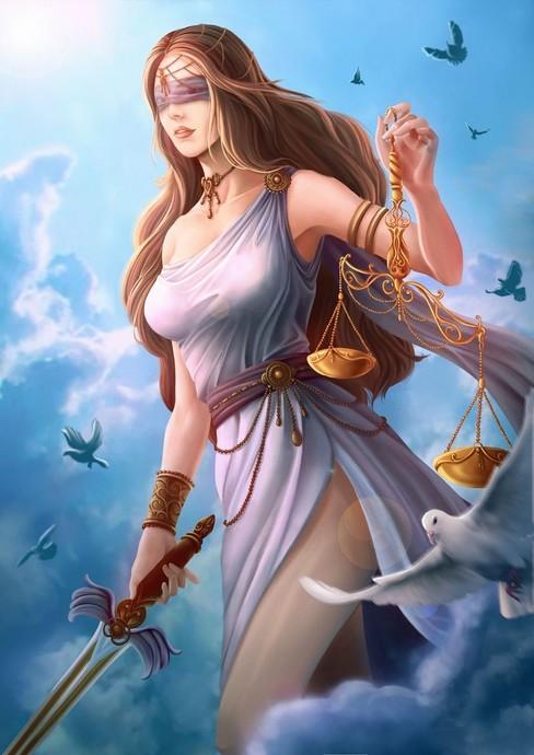 Themis; Adalet ve Düzen Tanrıçası
