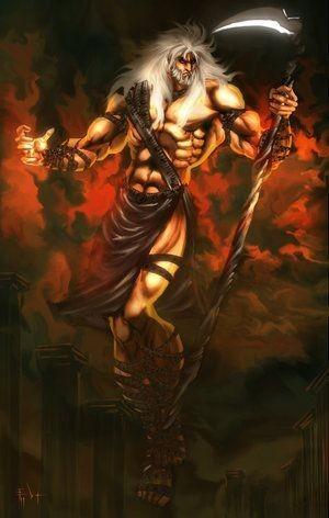 Kronos Zaman Titan Tanrısı