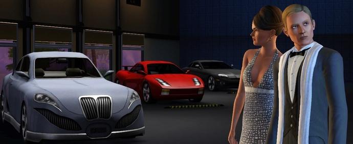 The Sims 3 ve Oyundaki Arabalardan Bazıları