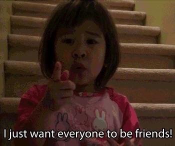 Kıyamam ya! Şu kızla arkadaş olun!