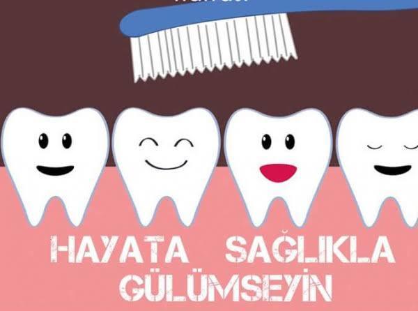 Hem gülümseme hemde sağlıklı bir yaşam için diş sağlımıza dikkat edelim