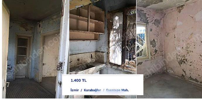 """İzmir'de 1500 TL'ye Kiraya Verilen, İçinde Sadece """"𝗬𝗔𝗧𝗔𝗞"""" Olan Tüp Odalar Sana Hayatı Sorgulatacak"""