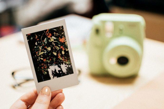 polaroid fotoğraf makinesi