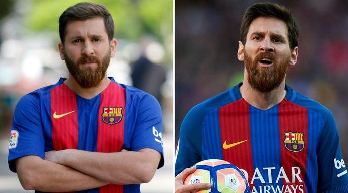 Ünlü Futbolculara Neredeyse İkizi Gibi Benzeyen Bazı Şaşırtıcı İnsanlar!