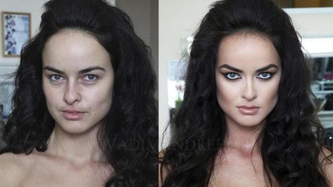 Makyajın yaptığı evrim ! ^^ nasıl çirkinken güzel olabilirsiniz?