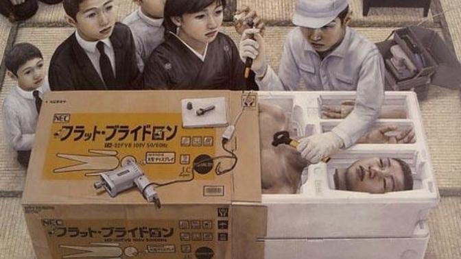 Resimleri İntihara Sürükleyen Adam; Tetsuya Ishida