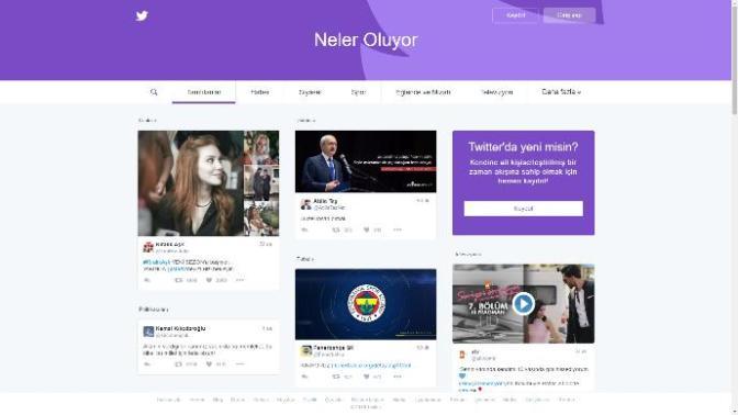 Twitter Web Arayüzünü Değiştirdi, İşte Yeni Twitter!