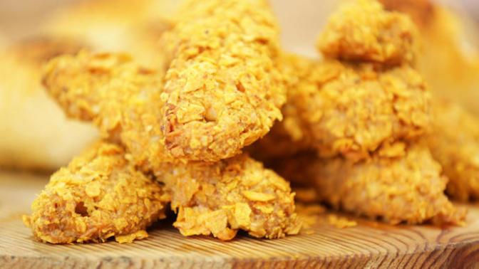 Müptelası Olacağınız Bir Lezzet: Doritoslu Çıtır Tavuk Pane