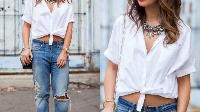 Yaza Hızlı Giriş Yapacak Bir Trend Geliyor: Bağlamalı Bluzlar!