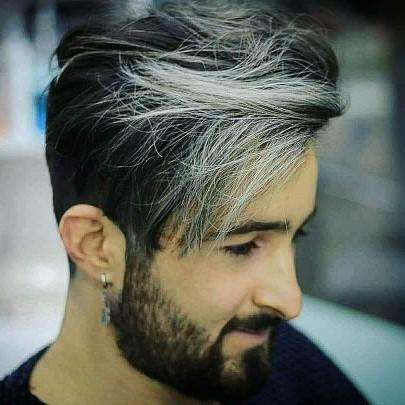 Sevgili arkadaşlar ilk defa saçlarımı gri renge boyattım sizce güzel mi veya kötü mü olmuş?
