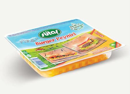 3-) Sütaş Burger (Cheddar) Peyniri