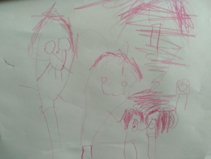 Kızım benim resmimi çizdi. Sanata nanik yapmış sayılır mıyız?