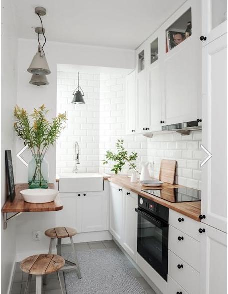Bir mutfakta