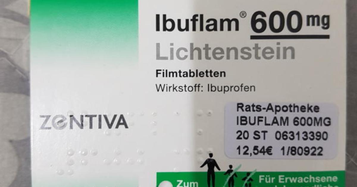 Lichtenstein ibuflam 600 Ibuflam