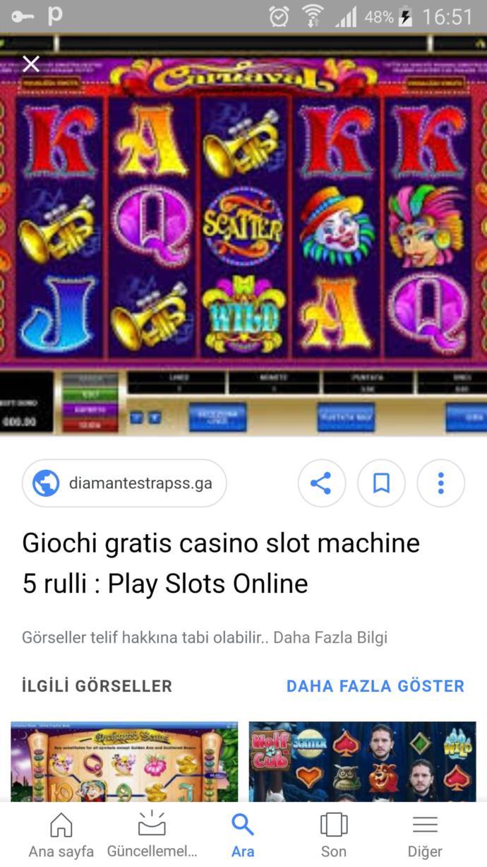 Giochi casino gratis