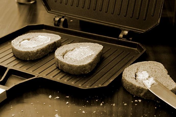 ocak üstü tost makinesi