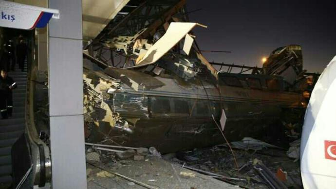 Ankara'da yüksek hızlı tren kazası. Sizce kaza mı ihmal mi?