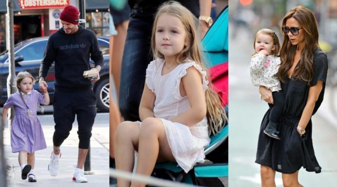 David & Victoria Beckham çiftinin çocukları Harper Beckham