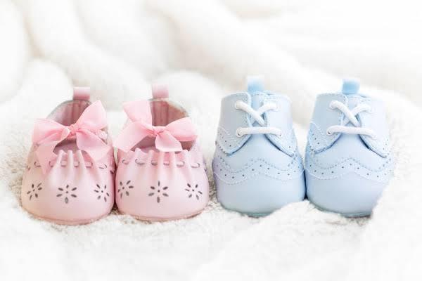 Cinsiyete göre bebek ayakkabıları