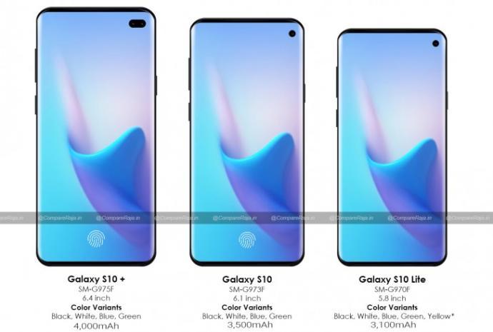 Samsung Galaxy S10 ailesinin muhtemel tasarımını beğendiniz mi?